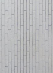 White tile wall as background