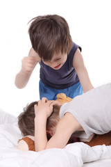 Gewalt bei Kindern
