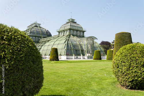 Botanic Gardens at Schoenbrunn Palace, Vienna, Austria