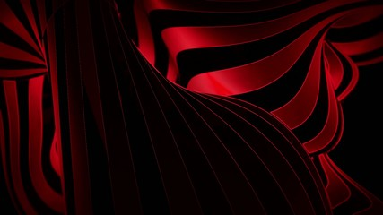 abstract black and red motion background with moving zebra lines