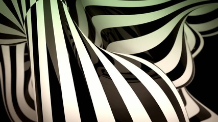 abstract black and white motion background with moving lines