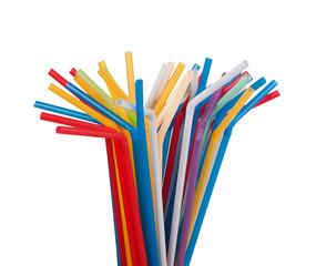 colour drinking straws