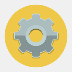 Vector cogwheel icon