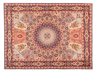 Rug. Classic Arabic Pattern. Asian Carpet Texture