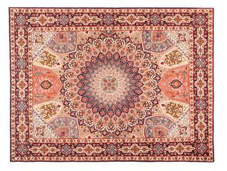Rug. Classic Arabic Pattern. Asian Carpet Texture