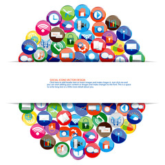 Social network with cloud computing design