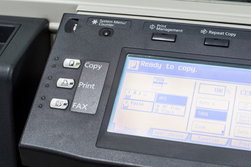 Multifunction printer Copy Print FAX in office