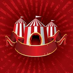 circus tent burst