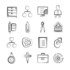 sketch business icons