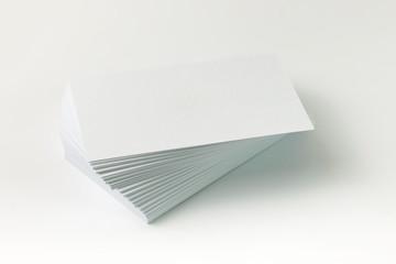 Plain business card