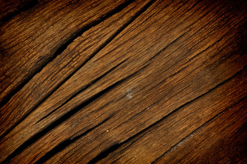 Texture of old wood used as background