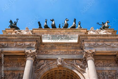 Italia, Milano, Arco della Pace