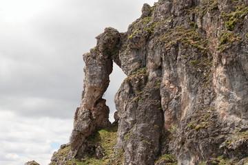 Arco de roca. Macizo de Las Tres Marías. Casares de Arbas, León.