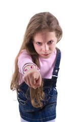 Angry Firm Girl