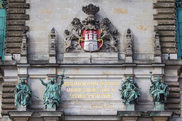 Hamburg, Germany, Rathaus