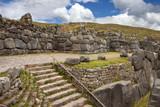 Inca stonework - Sacsayhuaman - Peru poster
