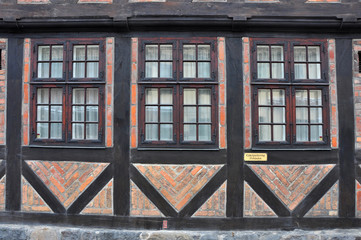 Fachwerkhaus in Skandinavien