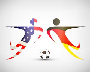 Fußball - Deutschland gegen USA