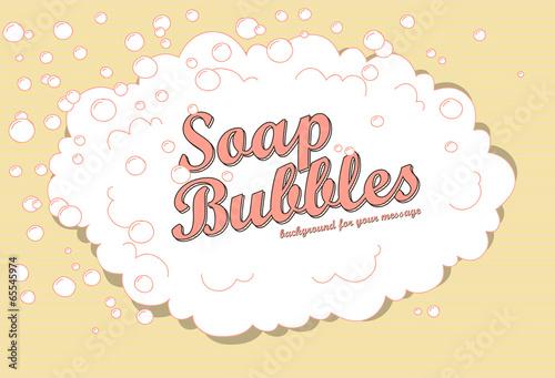 soap bubbles - 65545974