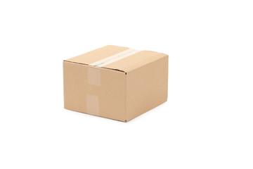 Close up of carton box.