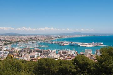 Palma de Mallorca marina habor