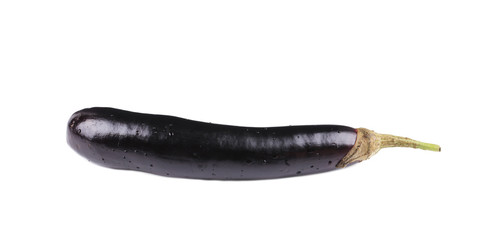 Fresh eggplant.