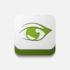 square button: eye