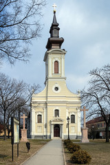 Ascension Church in Subotica, Serbia