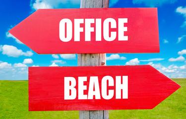 Office or beach