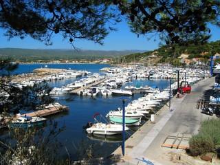 Le port de Saint-Cyr-Sur-Mer, Var