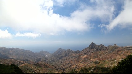 National park on Canary Islands