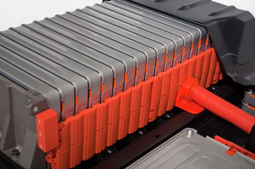 電気自動車のバッテリー