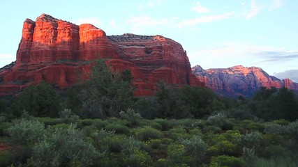 Colorful red rock formations of Sedona, Arizona