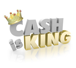 Cash is King Shopping Money Vs Credit Buy Power Currency