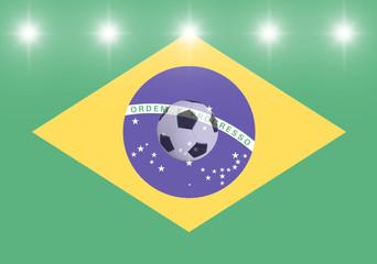 flagge_brasilien_licht_ball