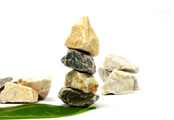 Stone spa and healthcare concept
