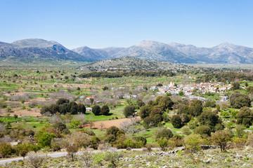 Kreta - Griechenland - Dorf in der Lassithi-Ebene
