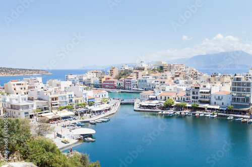 Kreta - Griechenland - Hafen von Agios Nikolaos - 65550352