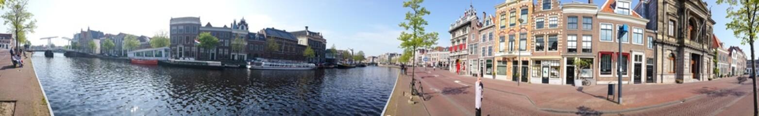 Dans les rues d'Haarlem