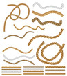 Vector Rope Brushes - with brush library - 65552120