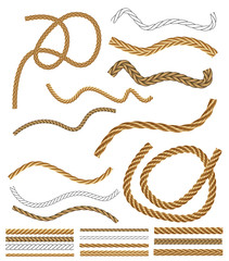Vector Rope Brushes - with brush library