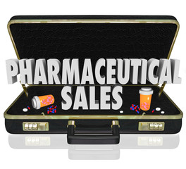 Pharmaceutical Sales Briefcase Medicine Samples Pills Capsules