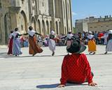 Fototapety Farandole en Avignon Provence