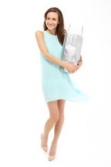 Szczęśliwa kobieta - udane zakupy