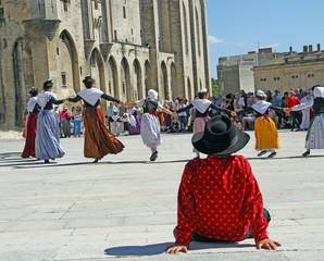 Farandole en Avignon Provence