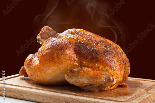 Papiers peints Dessert roasted chicken