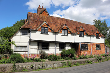 Timber Framed English Village Cottage