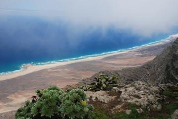 Ausblick vom Pico de la Zarza, Fuerteventura 2