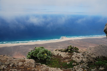 Ausblick vom Pico de la Zarza, Fuerteventura 1