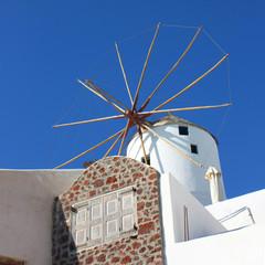 Grèce / Santorin - Moulin à Oia